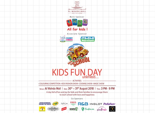 Kids Fun Day small banner